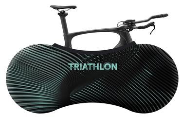 Velosock Triathlon Series Bike Cover Celeste Green