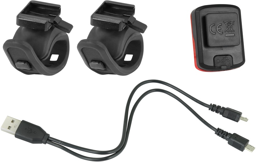 Велосипедный фонарь Force Point USB Light Set F45445
