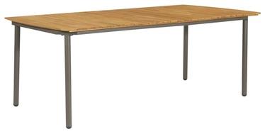 Садовый стол 47297, коричневый