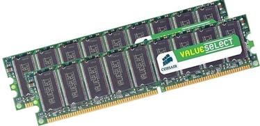 Corsair 2GB DDR2 CL5 KIT OF 2 VS2GBKIT667D2