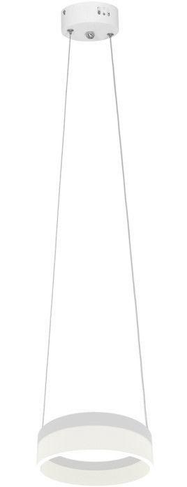 Milagro Ring Ceiling Lamp 12W LED White