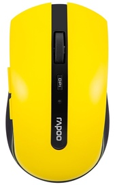 Rapoo 7200P Wireless Optical Mouse Yellow