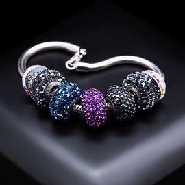 Diamond Sky Bracelet Becharmed Pavé Mini XI With Swarovski Beads