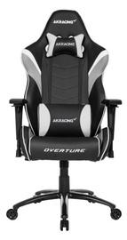Žaidimų kėdė AKRacing Overture Gaming Chair White