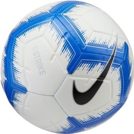 Nike Strike Soccer Ball White/Blue Size 5