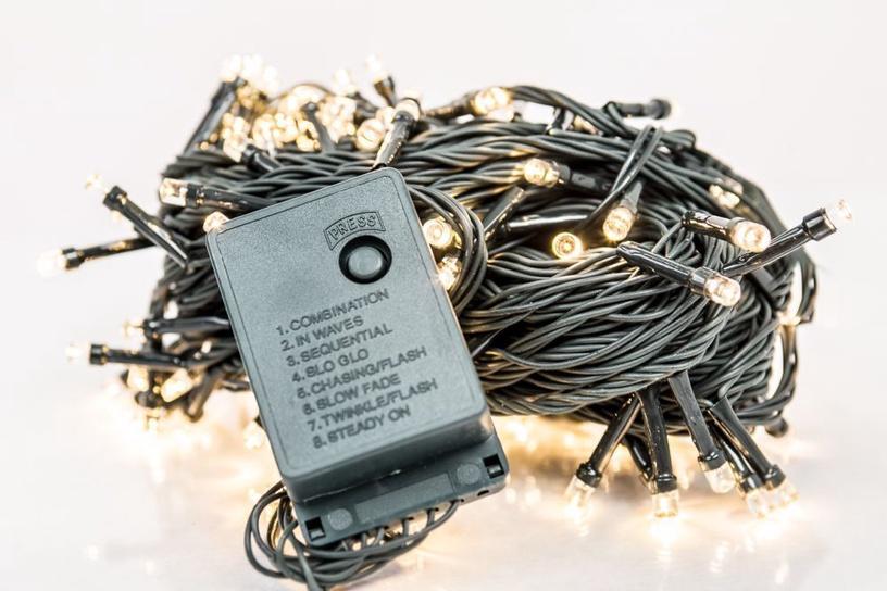 Elektriskā virtene EV LED 100, silti balta, 7 m