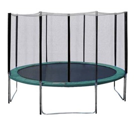 Home4you Trampoline With Enclousure D304cm Green
