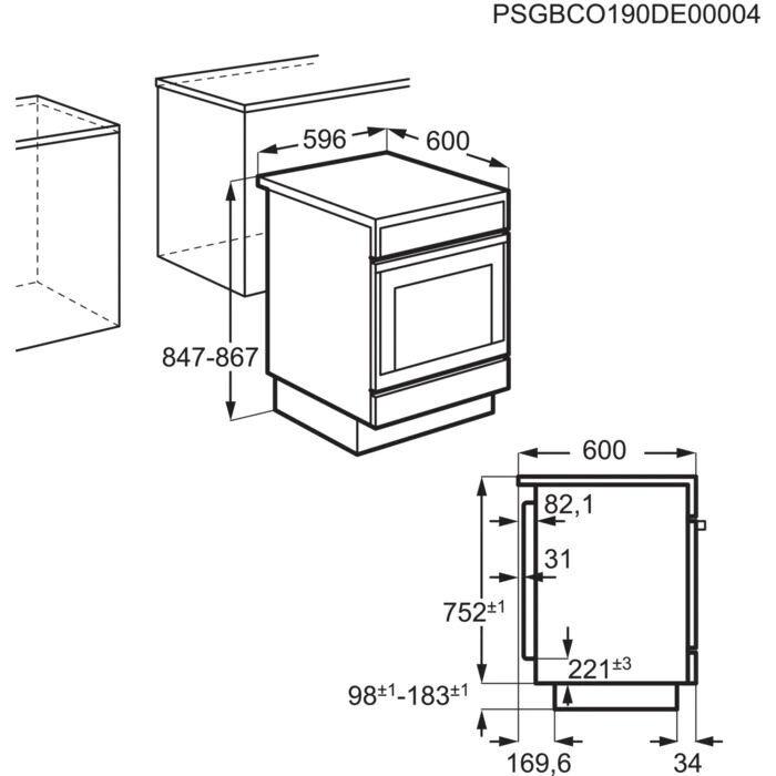Induktsioonpliit elektriahjuga Electrolux LKI64020AX