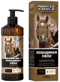 Horse Force Shampoo For Colored and Damaged Hair 500ml