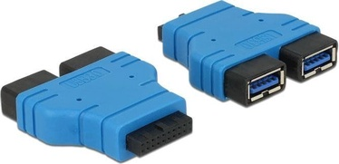 Delock Adapter HDMI to VGA Blue