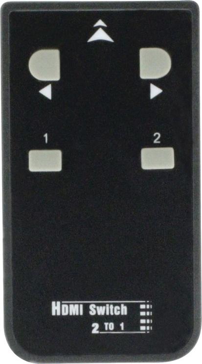 Konig 2 x 8-Port HDMI Splitter Dark Grey