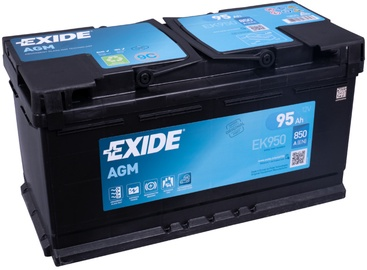 Аккумулятор Exide EK950, 12 В, 95 Ач, 850 а