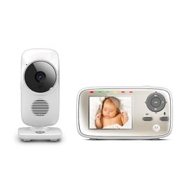 Motorola MBP483 Baby Monitor Single White