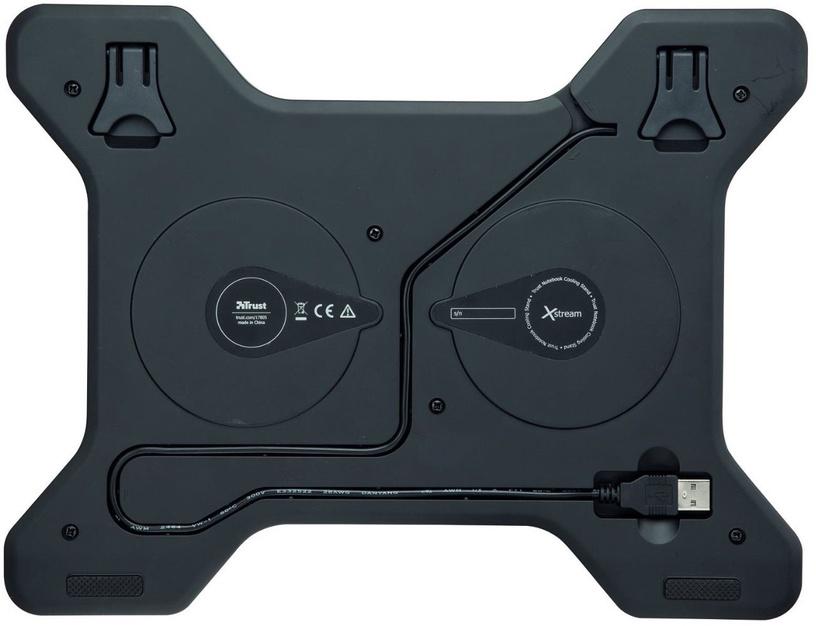 Trust Xstream Breeze Notebook Cooling Stand Black