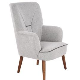 Halmar Bishop Leisure Chair Light Grey