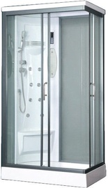 Vento Biello Massage Shower Left 110x218