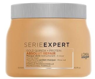 Kaukė plaukams L`Oréal Professionnel Absolut Repair Gold Quinoa + Protein, 500 ml