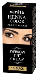 Venita Henna Eyebrow Tint Cream 15g Black