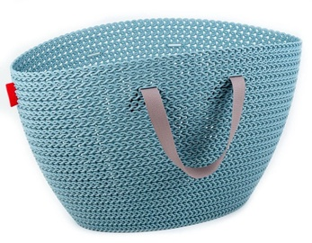 Curver Knit Emily Basket 23l Blue