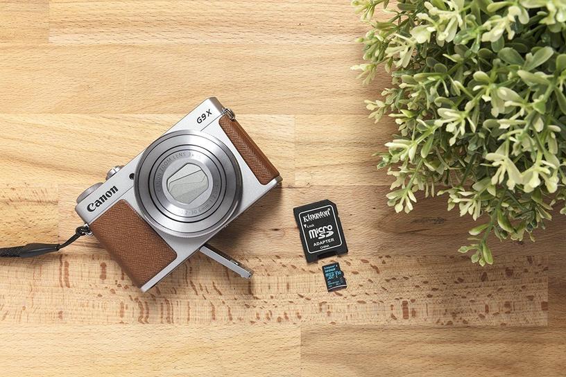 Kingston Canvas Go! MicroSD 128GB + SD Adapter