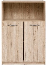 Black Red White Executive I Chest of Drawers San Remo Oak
