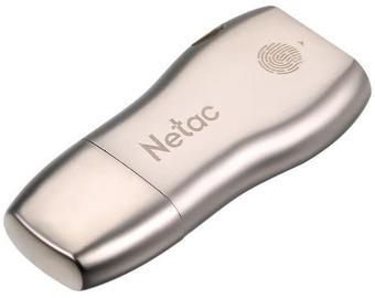USB-накопитель Netac U628, кремовый, 128 GB