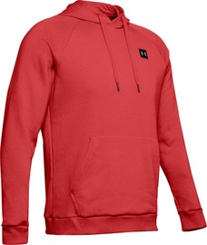 Under Armour Mens Rival Fleece Hoodie 1320736-646 Red M