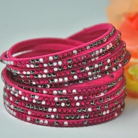 Vincento Bracelet Double Crystalsnake LB-1031