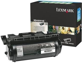 Lazerinio spausdintuvo kasetė Lexmark X644H11E Black