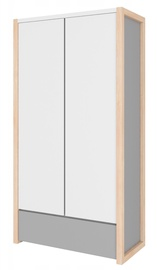 Bellamy Pinette Wardrobe White/Light Gray