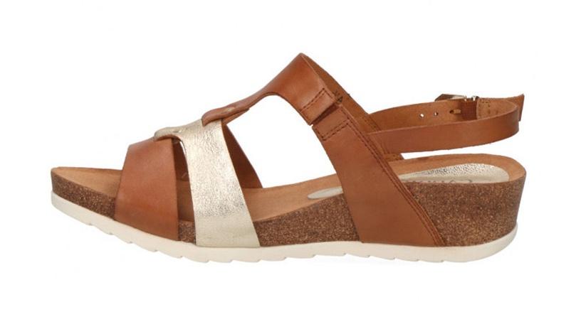 Basutės, Caprice Sandals 28207/22, Brown, 41
