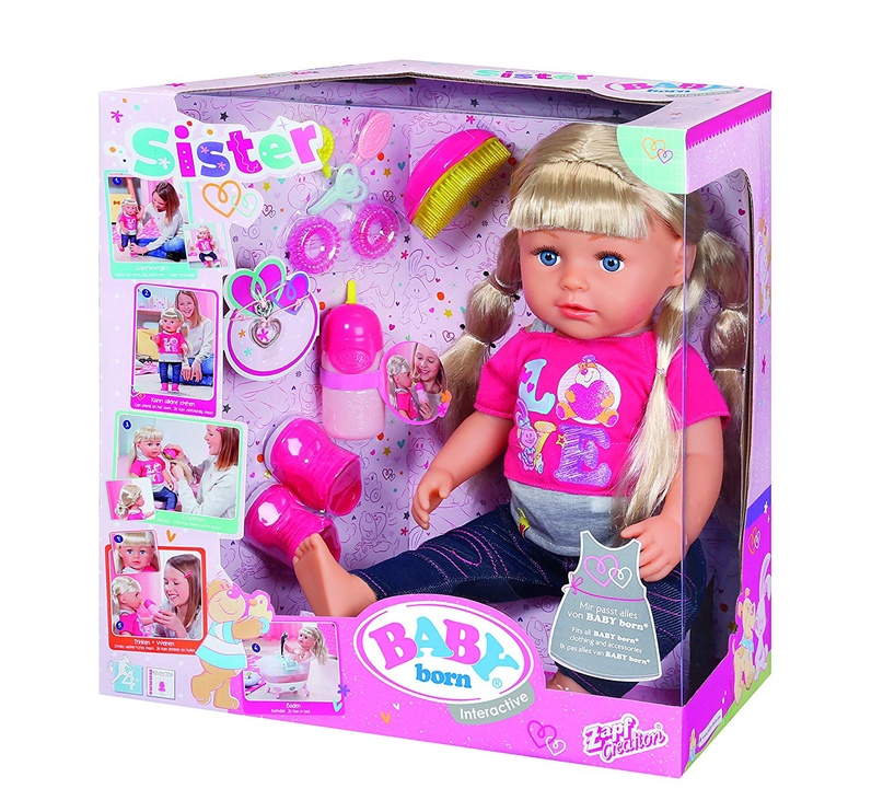 Lėlė Baby Born, interaktyvi 820704