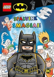 Knyga LEGO® BATMAN™. Spalvink smagiai!