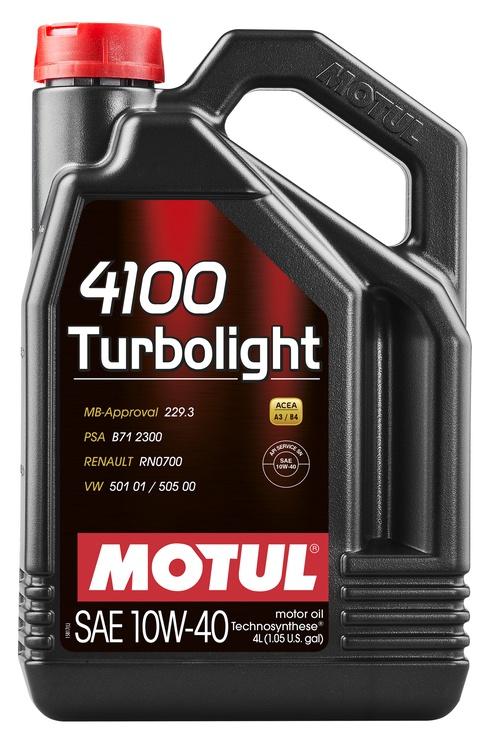 AUTO MOOTORIÕLI MOTUL 4100 TURB 10W40 4L