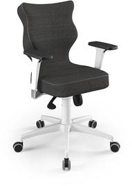 Entelo Perto White Office Chair FC33 Dark Gray