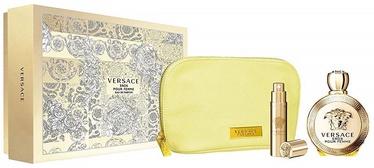Versace Eros Pour Femme 100ml EDP + 10ml EDP + Cosmetic Bag