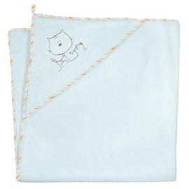 Ceba Baby Bath Towel Hihi Turquoise