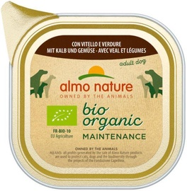 Almo Nature Bio Organic Maintenance Veal & Vegetables 100g