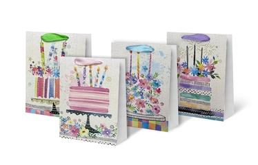 Paper Gift Bag 31x12x40cm SCW230-ABCD-L
