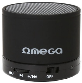 Belaidė kolonėlė Omega OG47B 3W Metal Body Bluetooth Speaker Black