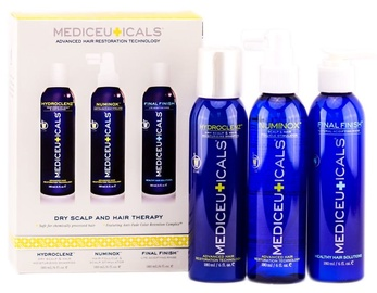 Mediceuticals Dry Scalp And Hair Therapy Kit 3x180ml