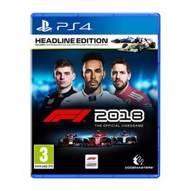 Kompiuterinis žaidimas F1 2018 Headline Edition, PS4