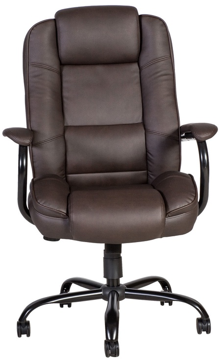 Home4you Office Chair Elegant XXL Brown