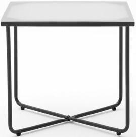 Naktinis staliukas Meise Möbel Boston, juodas, 44x35x41 cm