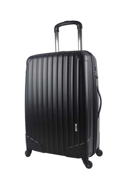 Kohver PPZ-101, 71x50x30 cm, must
