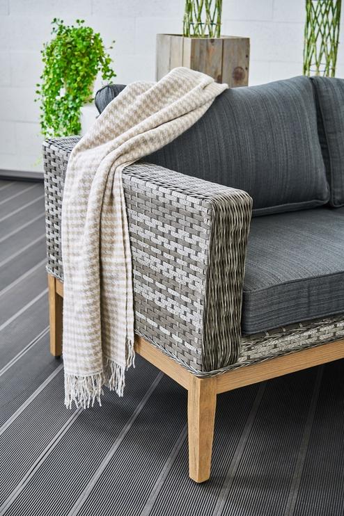 Sodo baldų komplektas Masterjero Granada Brown/Grey