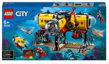 Konstruktors LEGO City Okeāna izpētes bāze 60265, 497 gab.