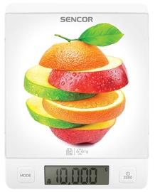 Elektrooniline köögikaal Sencor SKS 7000, valge