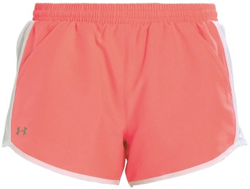 "Under Armour Shorts Fly By 3"" 1297125-819 Pink S"
