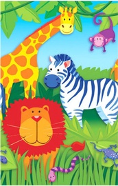 Amscan Jungle Animals Table Cover 137 x 259cm